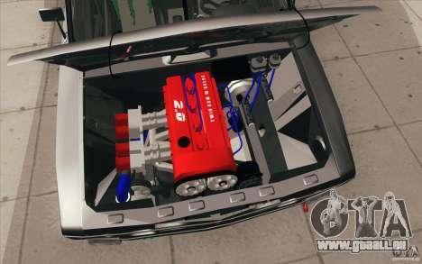 L'écoute de Drift Lada VAZ 2106 pour GTA San Andreas salon