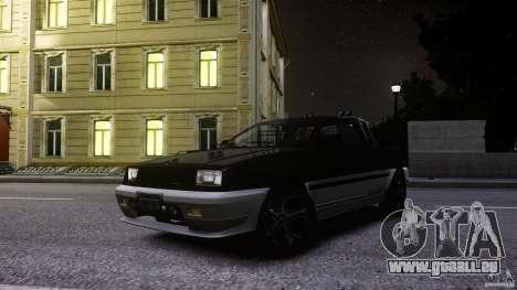 Blista Pick Up pour GTA 4 est une vue de l'intérieur