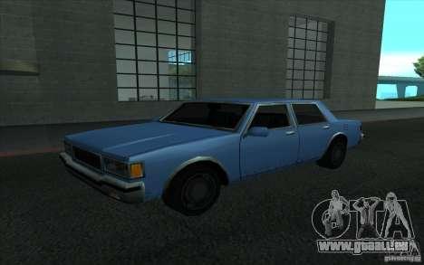 Civilian Police Car LV pour GTA San Andreas