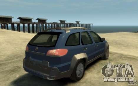 Fiat Palio Adventure Locker für GTA 4 rechte Ansicht
