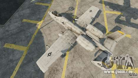 A-10A Thunderbolt II für GTA 4 rechte Ansicht