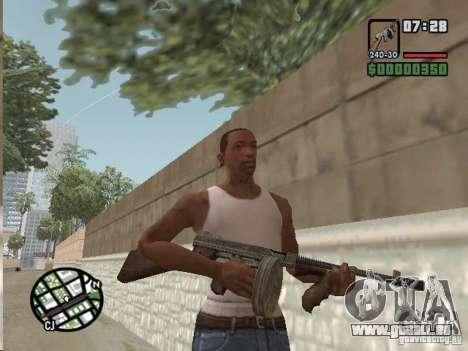Mafia II Full Weapons Pack für GTA San Andreas siebten Screenshot