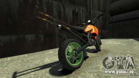 Stunt Supermotard Sanchez für GTA 4 hinten links Ansicht