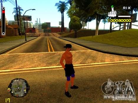 Strand Menschen für GTA San Andreas her Screenshot