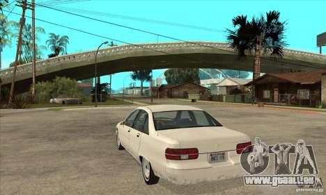 Chevrolet Caprice 1991 pour GTA San Andreas vue arrière