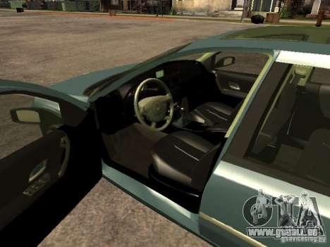 Renault Laguna II pour GTA San Andreas sur la vue arrière gauche