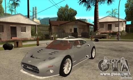 Spyker C8 Aileron für GTA San Andreas