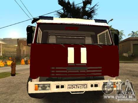 KAMAZ 43253 Rozenbauer pour GTA San Andreas vue de droite