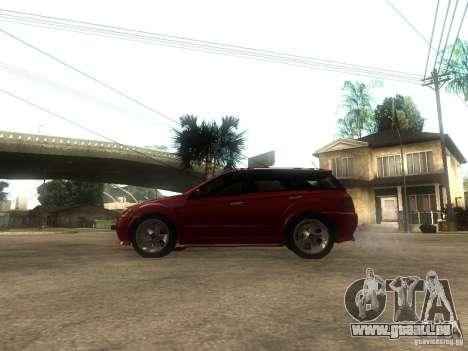 Serrano Stock pour GTA San Andreas laissé vue
