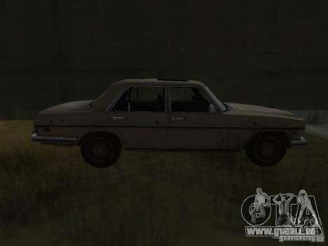 Mercedes-Benz de Call of Duty 4 pour GTA San Andreas laissé vue