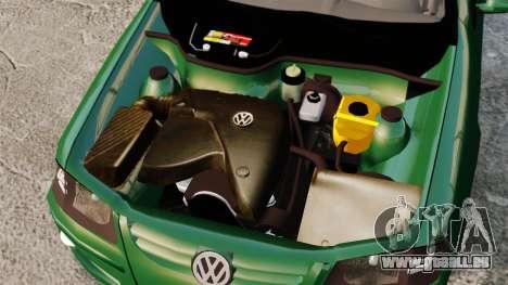Volkswagen Gol G4 Edit pour GTA 4 Vue arrière