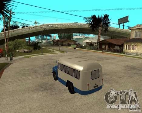 KAVZ-685 für GTA San Andreas zurück linke Ansicht