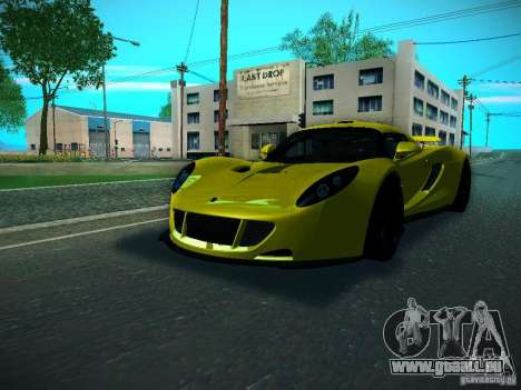 Hennessey Venom GT Spyder für GTA San Andreas