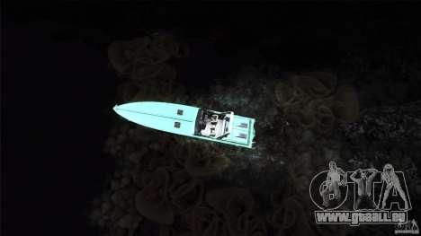 Wellcraft 38 Scarab KV pour GTA San Andreas vue arrière