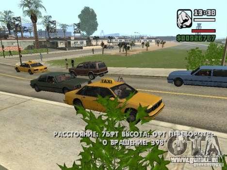 Temps réel pour GTA San Andreas deuxième écran