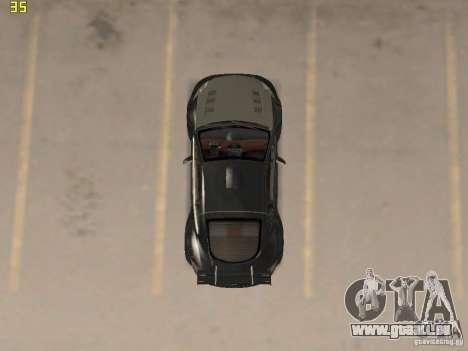 Mitsubishi Eclipse GT NFS-MW pour GTA San Andreas vue arrière