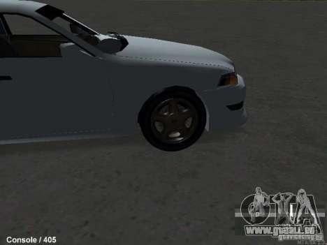 Toyota Mark II 100 1JZ-GTE pour GTA San Andreas vue de droite