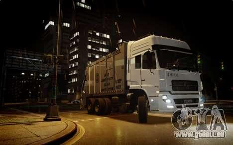 Dongfeng Denon Garbage Truck pour GTA 4 est un droit