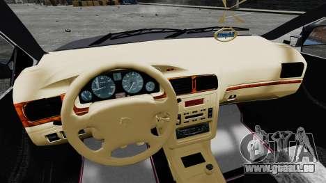 Iran Khodro Samand LX für GTA 4 Rückansicht