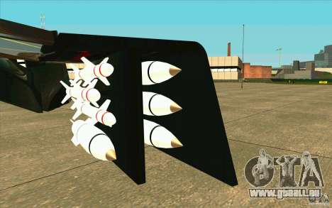 Aliens vs. Predator Marine Drobship pour GTA San Andreas vue intérieure