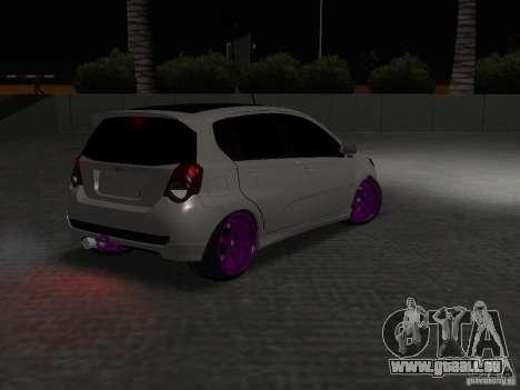 Chevrolet Aveo Tuning für GTA San Andreas Rückansicht