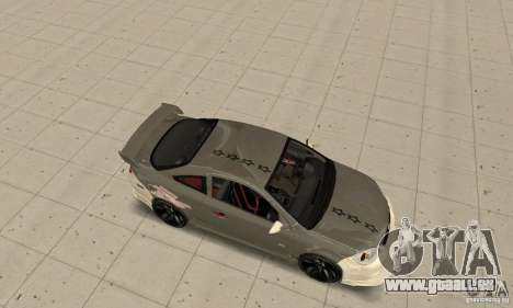 Chevrolet Cobalt SS NFS ProStreet pour GTA San Andreas vue arrière