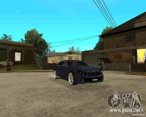 Mercedes-Benz CLS500 The GreenFairy TUNING pour GTA San Andreas vue de côté
