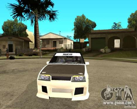 VAZ 2108 eXtreme für GTA San Andreas Rückansicht