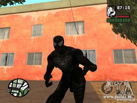 Spiderman Feind in Reflexion für GTA San Andreas