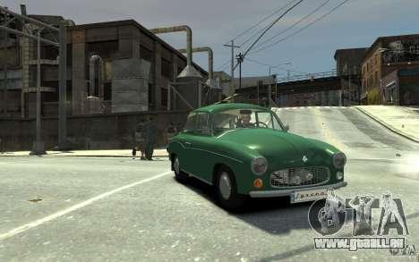 FSM Syrena 105 für GTA 4 Rückansicht