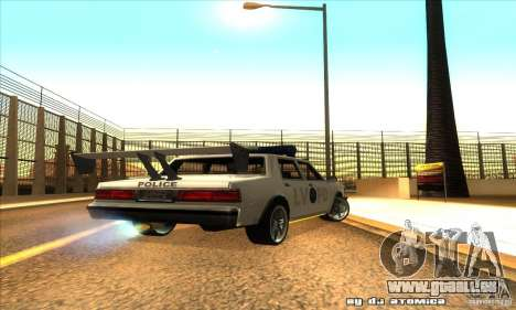 Police Hero v2.1 pour GTA San Andreas vue de droite