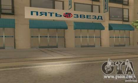 Fünf Sterne und Spare part Service für GTA San Andreas her Screenshot