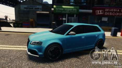 Audi RS3 Sportback V1.0 für GTA 4 linke Ansicht