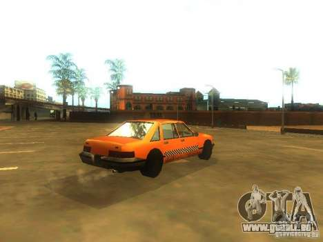 Crazy Taxi pour GTA San Andreas vue de droite