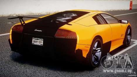 Lamborghini Murcielago LP670-4 SuperVeloce für GTA 4 Innen
