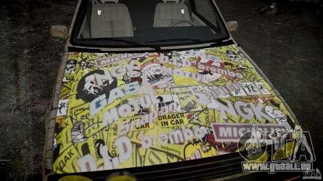 Volkswagen Golf Mk2 GTI Rat-Look für GTA 4 hinten links Ansicht