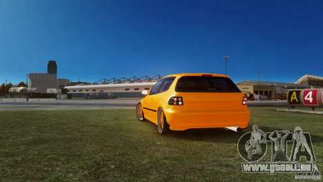 Honda Civic Tuned für GTA 4 hinten links Ansicht