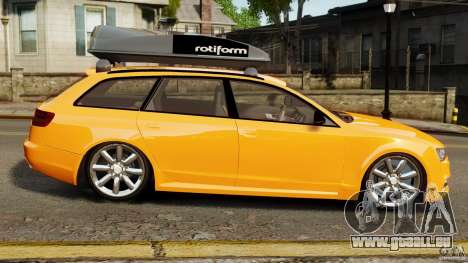 Audi A6 Avant Stanced 2012 v2.0 für GTA 4 linke Ansicht