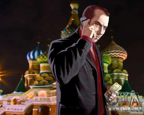 Écran de démarrage de la Russie en Amérique pour GTA 4 septième écran