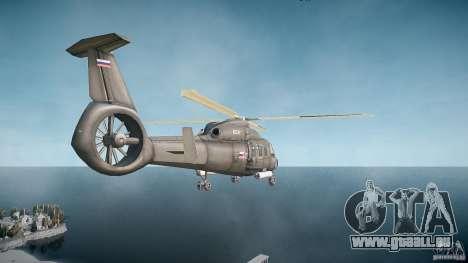 KA-60 Kasatka v1.0 pour GTA 4 Vue arrière de la gauche