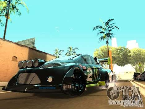 Ford Fiesta Rally Time pour GTA San Andreas