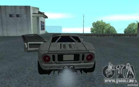 Ford GT 40 pour GTA San Andreas vue de droite