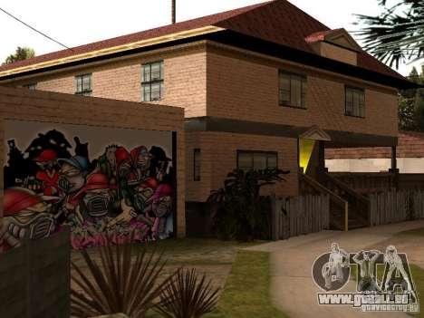 Neue Startseite Cj für GTA San Andreas her Screenshot