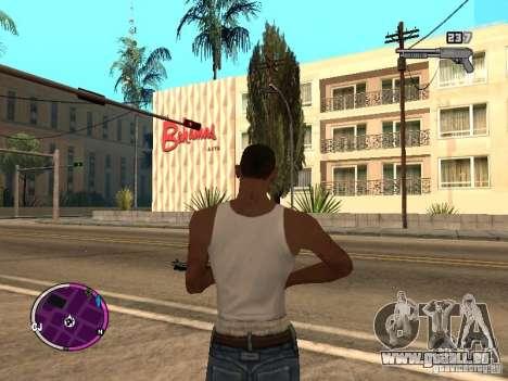TBOGT HUD pour GTA San Andreas troisième écran