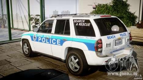 Chevrolet Trailblazer Police V1.5PD [ELS] für GTA 4 hinten links Ansicht