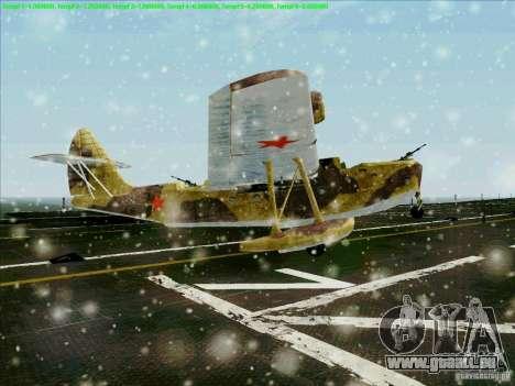 MBR-2 für GTA San Andreas zurück linke Ansicht