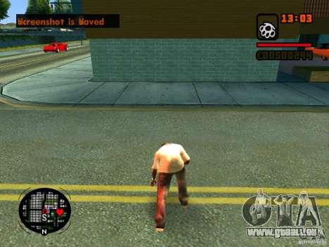 GTA IV Animation in San Andreas pour GTA San Andreas onzième écran