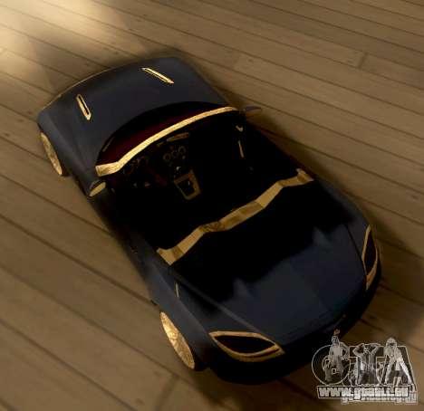 Opel GT 2007 pour GTA San Andreas sur la vue arrière gauche