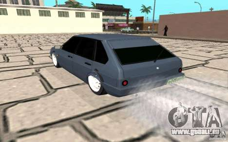VAZ 2109 v. 2 für GTA San Andreas zurück linke Ansicht