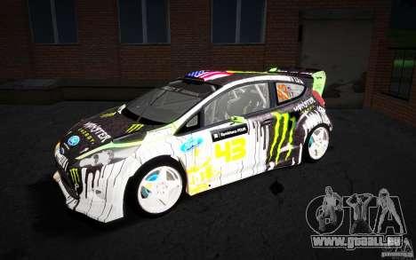 Ford Fiesta Gymkhana Four pour GTA San Andreas laissé vue